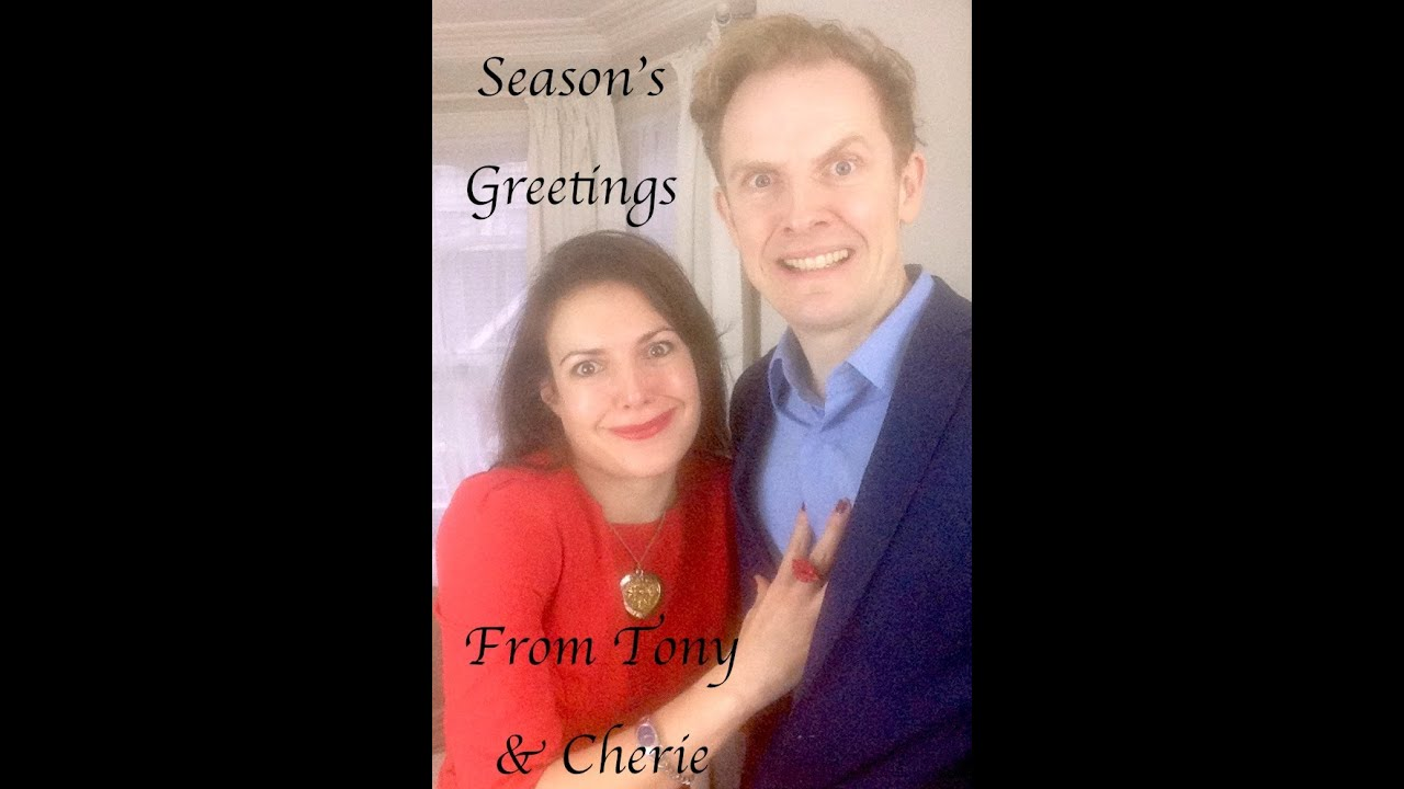 Tony and Cherie Blair's Christmas Photo Shoot (Spoof) - YouTube