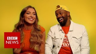 Brexit blind dates: Love Island's Zara and Magid Magid - BBC News
