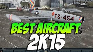 War Thunder Best Jet 2K15! F-84B - THE TAKEOFF KING!