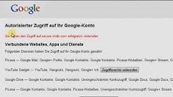 Zugriffsrechte von Apps, Websites und Diensten auf eurem Google Konto widerrufen