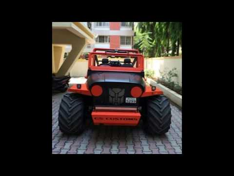 Best Ever Modified Thar In India Thar Modification Modified