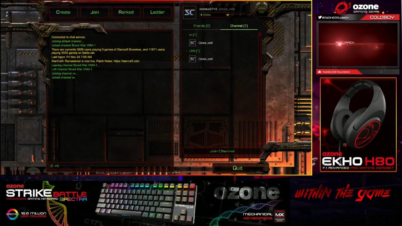 Test Stream Starcraft Remastered