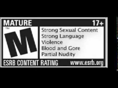 Rated m for mature logo