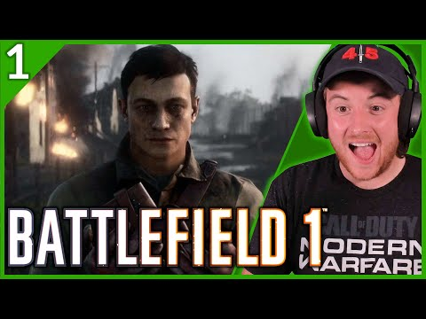 Royal Marine Plays BATTLEFIELD 1 For The First Time Part 1! (PLUS COLD WAR GIVEAWAY!)