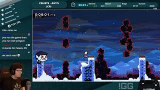 World Record - Celeste Any% (Current Patch) Speedrun in 29:59