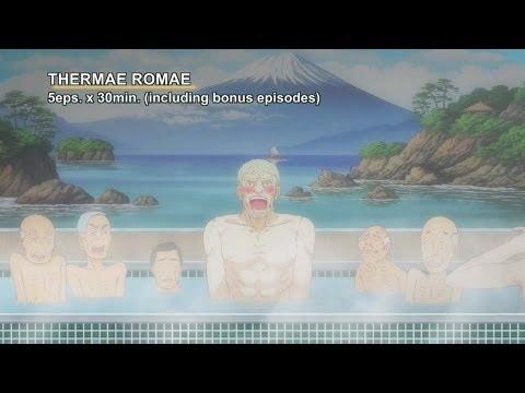 THERMAE ROMAE -NoitaminA Animation- 【Fuji TV Official】
