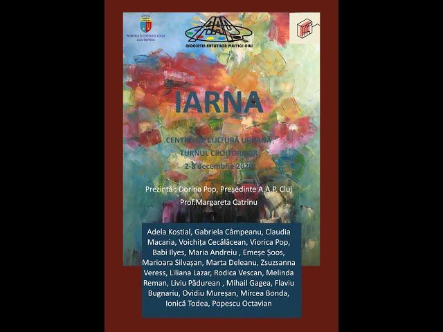 Asociația Artiștilor Plastici Cluj: Iarna - expoziție de pictură