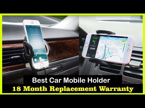 ✅ Best 5 Automatic Mobile  Car Phone Holders For 2020😍