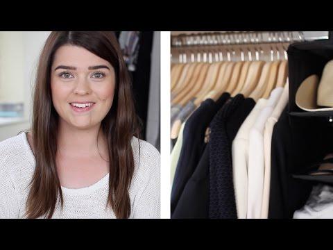 Wardrobe Clear-Out & Organisation Tips | #WardrobeWeek