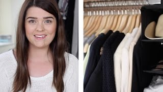 Wardrobe Clear-out & Organisation Tips | #wardrobeweek