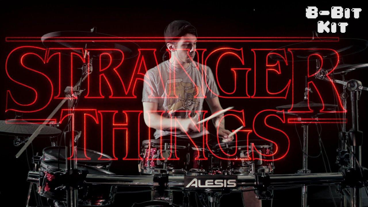 Stranger Things Metal Drums 8 Bit Kit Youtube