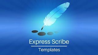 express Scribe Transcription Software Tutorial  Templates