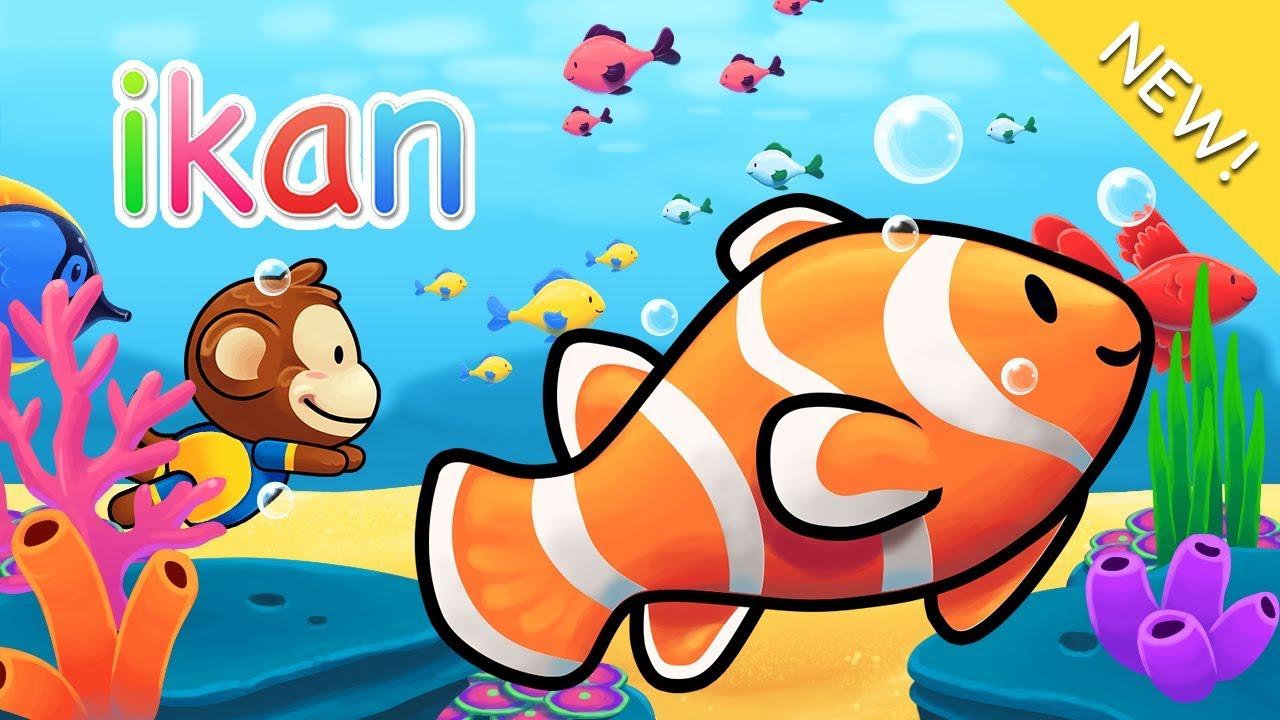 Download 81 Gambar Ikan Hias Kartun HD Gratis