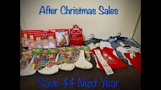 After christmas sales -