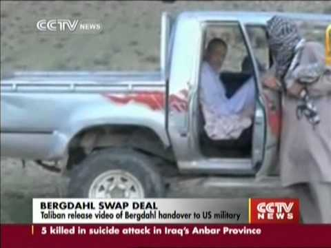Taliban release video of Bergdahl handover to US military