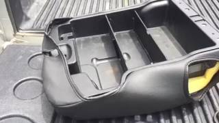 2012 ram 1500 clazzio center console jump seat cover mod