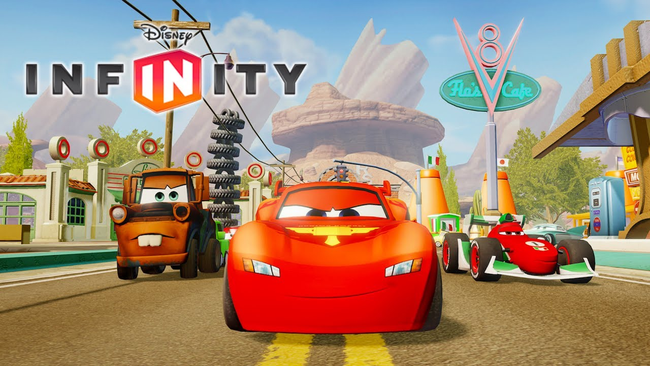 cars flash mcqueen jeux vid o de dessin anim en fran ais voiture de course disney infinity. Black Bedroom Furniture Sets. Home Design Ideas