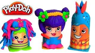 Play Doh Crazy Cuts Fuzzy Pumper - Pâte À Modeler Coiffures en Folie - Сумасшедшие прически
