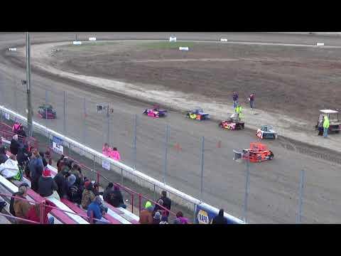 Mini Wedge Heat #1 on 04-27-2018 at I-96 Speedway.