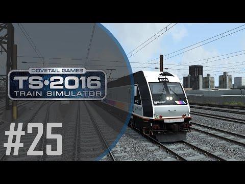 TS2016 | #25 | Jeah, wir sind in Amerika | North Jersey Coast Line | ALP-45DP | Train Simulator 2016 |