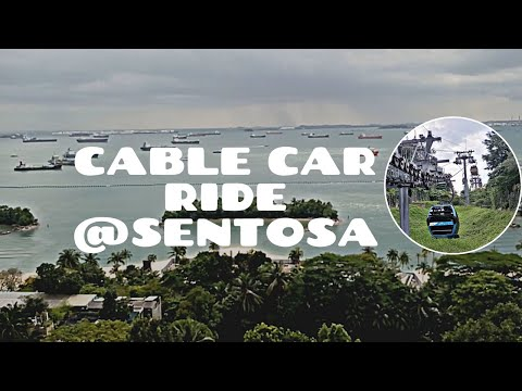 Sentosa Island Singapore by Cable Car   Pinay in Singapore