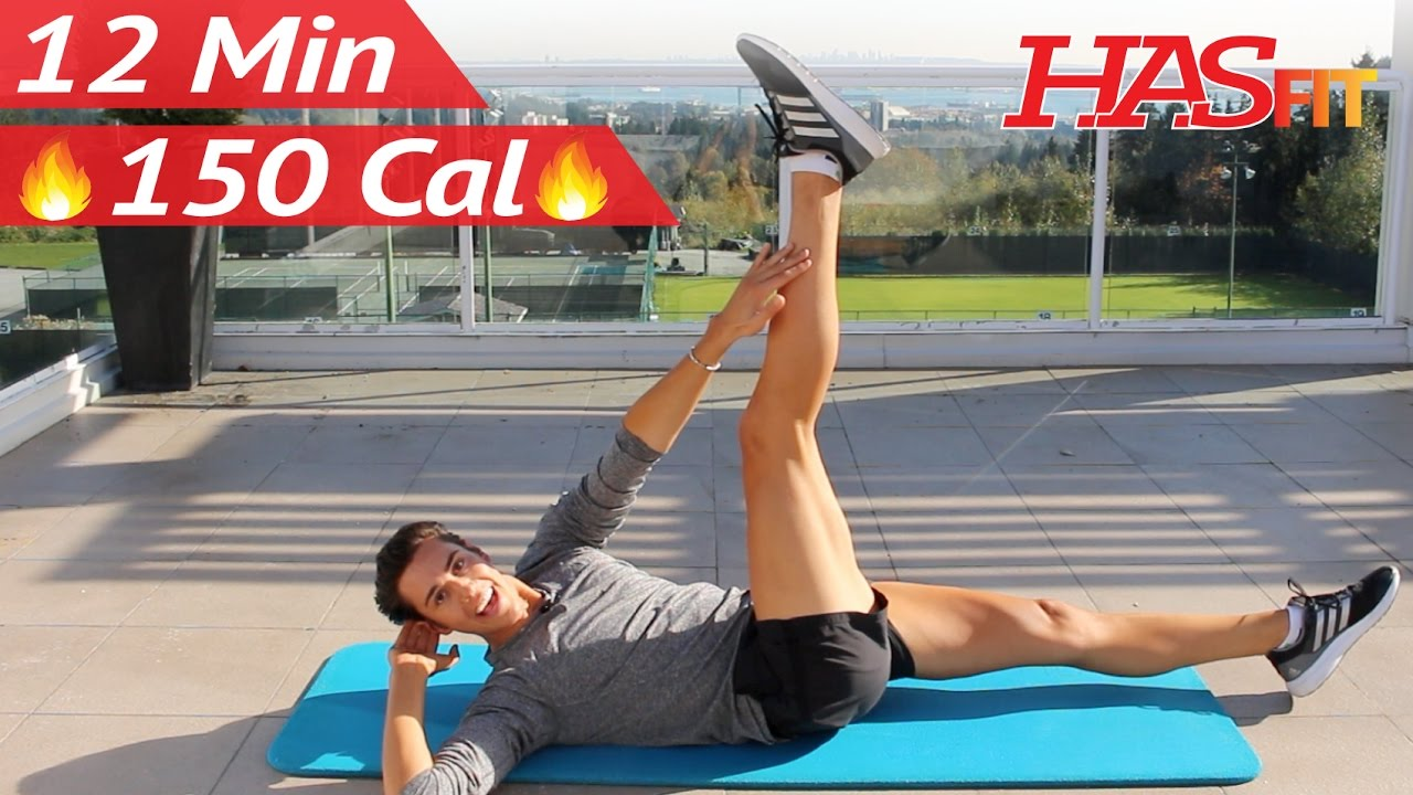 12 Min Extreme Abs Workout w/ Zachary Fiorido's Beauty and the Fit - Extreme Ab Workouts at Home