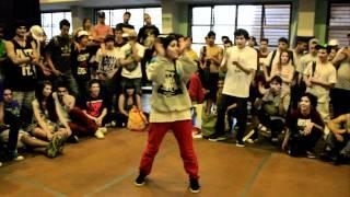 Bgirl Anita (arg) vs Bgirl Angela (chile)(knock out battle 6)parte 1