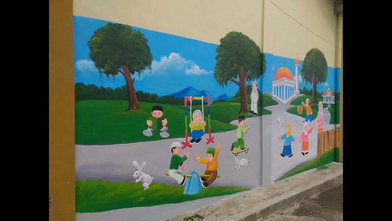 Gambar Dinding Kelas Tk Sabalukisan
