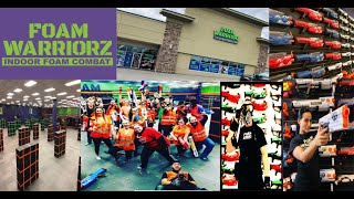 Foam Warriorz Best Indoor Foam Combat Arenas In The World!