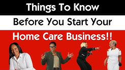 Coach Michele's things to know before you start your home care business