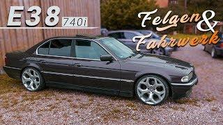 BMW E38 740i - Felgen & Fahrwerk   E36 TAZ