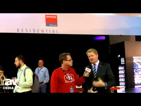 CEDIA 2014: Gary Kayye Interviews New Head of Barco Residential Tim Sinnaeve