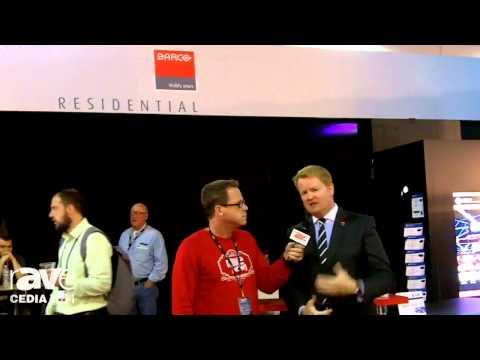 CEDIA 2014: Gary Kayye Interviews New Head of Barco Residential Tim Sinnaeve