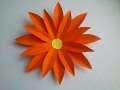 Paper flower: How to make a simple paper flower.