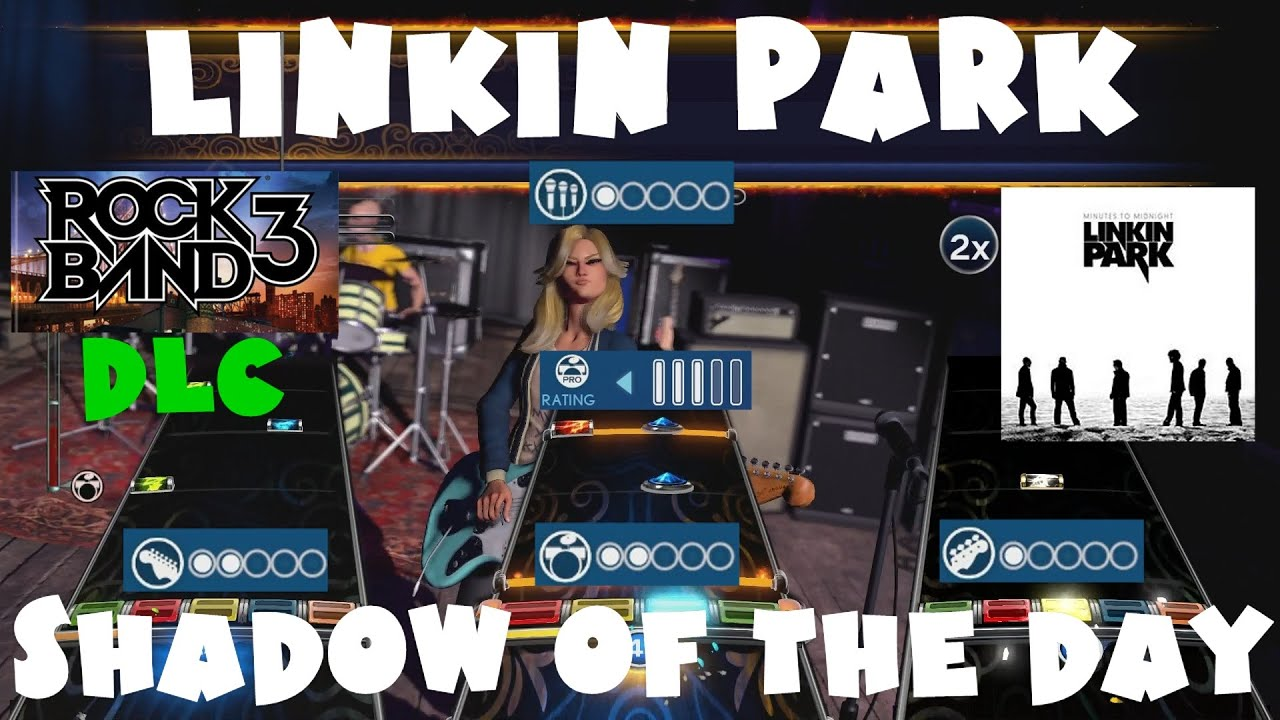 Linkin Park - Shadow of the Day - Rock Band 3 DLC Expert Full Band  (September 4th, 2012)