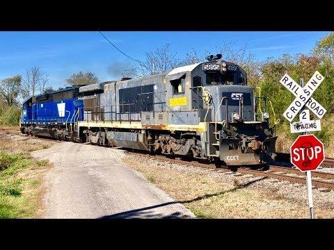 First Run, Part 2, Cincinnati Eastern Railroad, B36-7, Switching Out Rail Car!