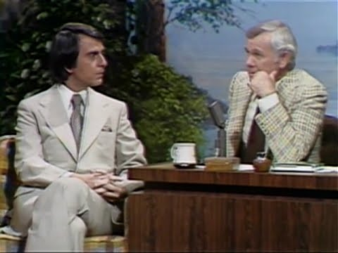Carl Sagan on The Tonight Show with Johnny Carson (full interview, May 20th, 1977)