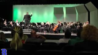 blacksburg high school 2017 symphonic band