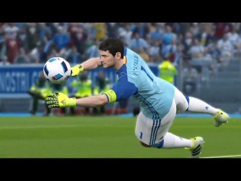UEFA Euro 2016 – PES 2016 – Italy vs Spain | Gameplay (HD) [1080p60FPS]