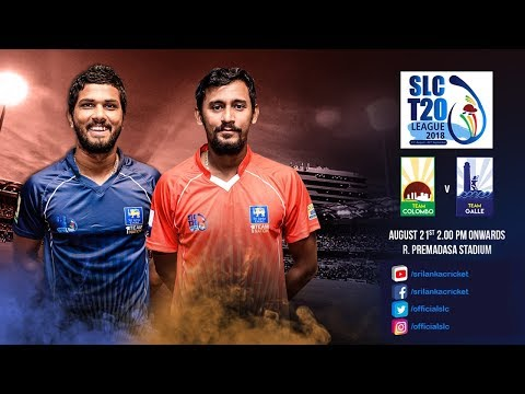 SLC T20 League 2018 - Match 1: Team Colombo vs Team Galle