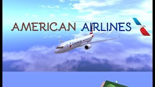 Vol ROBLOX American Airlines!