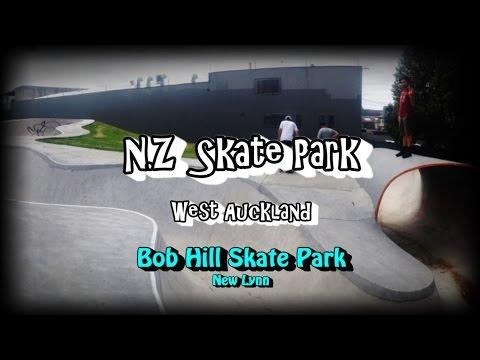 NZ Skate Park Ep.50 - Auckland - Bob Hill Skate Park Spot Check (New Lynn)