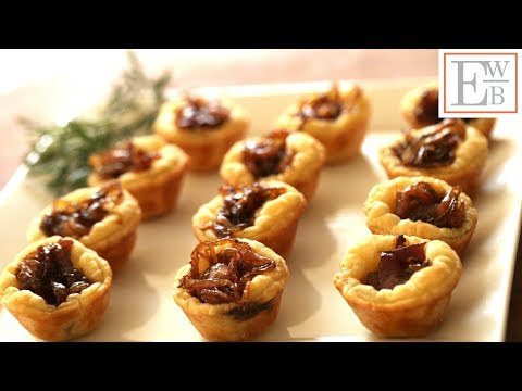 Beth's Goat Cheese Tartelettes | ENTERTAINING WITH BETH