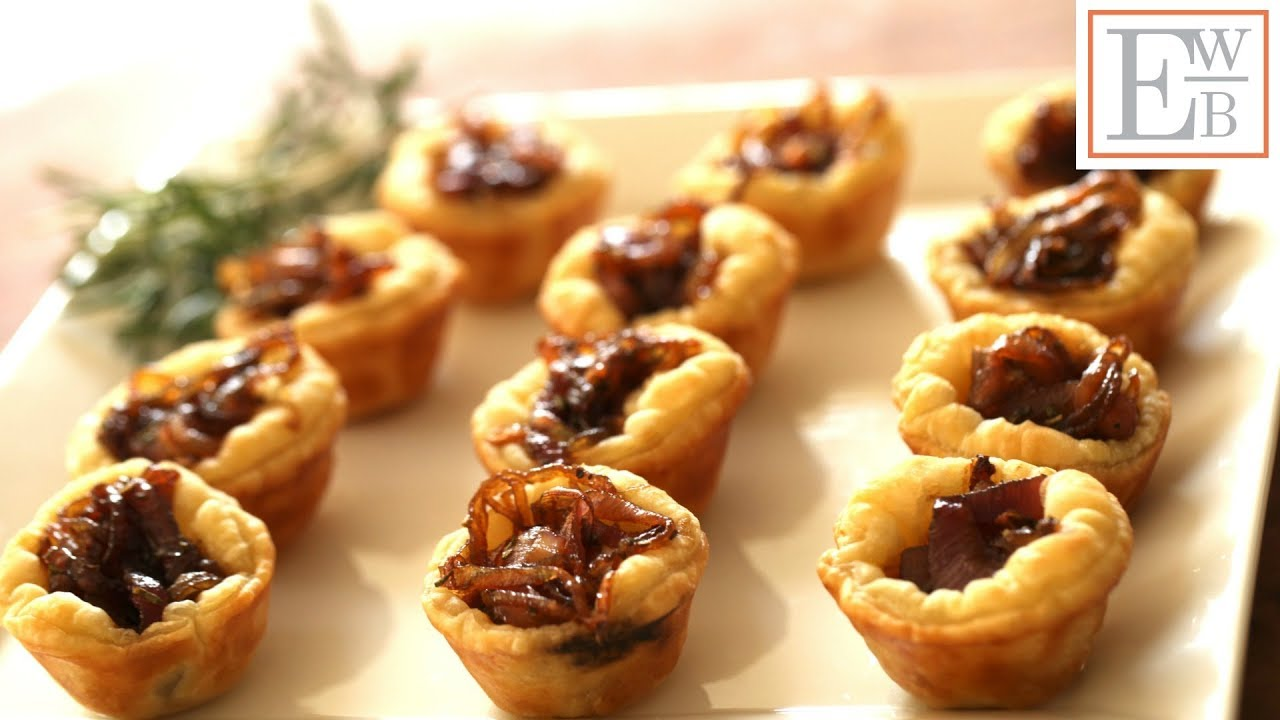 Beth's Goat Cheese Tartelettes | ENTERTAINING WITH BETH - YouTube