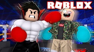 WE ARE STRONG IN THE FIGHT SIMULATOR OF ROBLOX!! (Roblox Fighting Simulator)