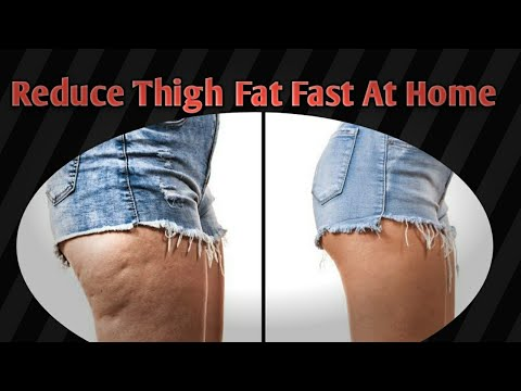 4 Simple Exercises To lose Thigh Fat Fast