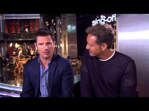 The Sing Off Season 4: Host Nick Lachey & Producer Mark Burnett Interview
