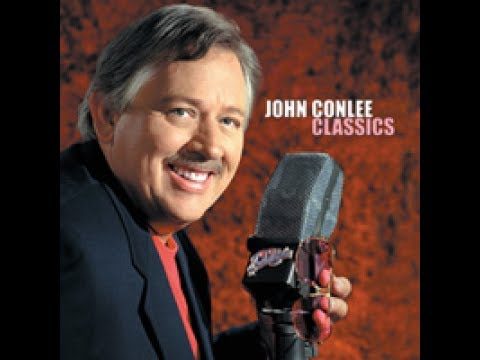 John Conlee - Rose Colored Glasses (Lyrics on screen)