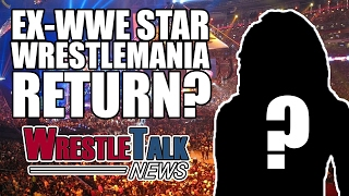 WWE Planning Kurt Angle In-Ring Return! Another Ex-WWE Star For Wrestlemania? | WrestleTalk News(WWE planning Kurt Angle in-ring return, another ex-WWE star for Wrestlemania and more in this WrestleTalk News... Subscribe to WrestleTalk for daily WWE ..., 2017-02-17T15:33:57.000Z)