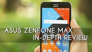 ASUS ZENFONE MAX (3GB RAM) IN-DEPTH REVIEW